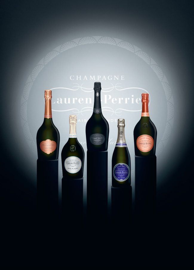 Gamme de champagne Laurent-Perrier